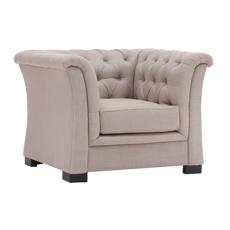 I pinned this Nob Hill Arm Chair in Beige from the ZUO Furniture event at Joss and Main!