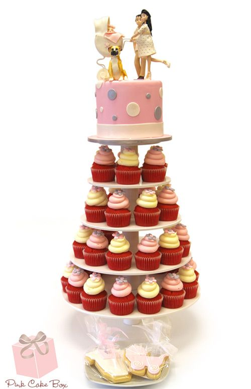 Cake And Cupcake Stand Combination