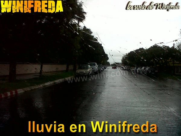En la lluvia de anoche cayeron 20 mm en Winifreda