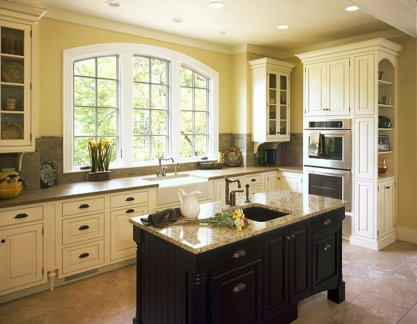 84 best images about kitchen ideas on pinterest for Black country kitchen cabinets