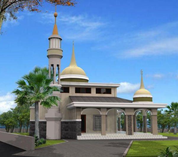 76 Gambar Gambar Masjid Sederhana Paling Bagus