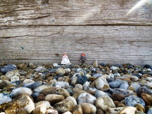 'Fun in the Sun' A Playmobil Bride & Groom Photoshoot on Eastbourne Beach   By FitzGerald Photographic http://www.fitzgeraldphotographic.co.uk/2013/07/photo-shoot-on-eastbourne-beach/