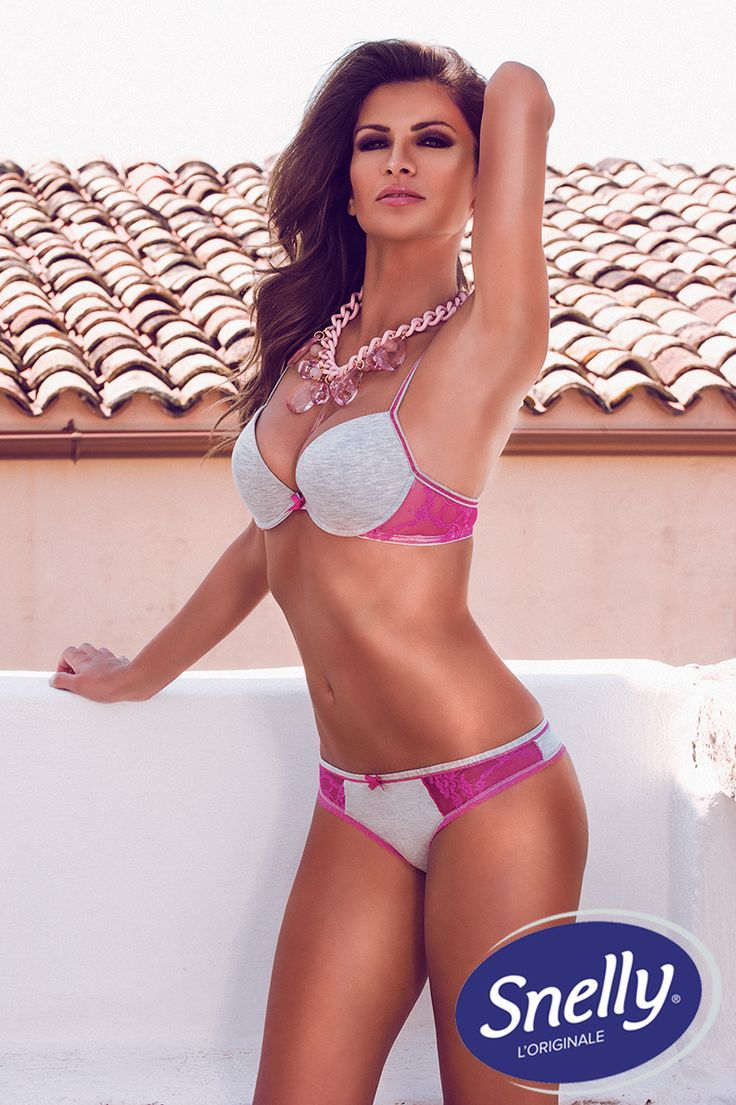 'Delicious' Snelly Intimo #Spring #Summer Collection with Alessia Ventura.
