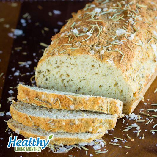 Fragrant Rosemary Oregano Bread from the October 2015 issue of Healthy Living Monthly newsletter: https://gum.co/sOvPr
