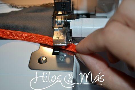 Truco para cuadrar las costuras en la overlock cuando hemos puesto FOE #hilosymas #tutorial #blog