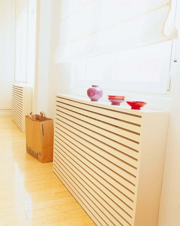 25 best ideas about estante del radiador en pinterest - Muebles para cubrir radiadores ...