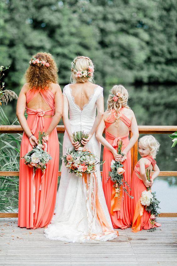 Die besten 25+ Hochzeit in Koralle Ideen auf Pinterest Korallen - dekoration aus korallfarben ideen