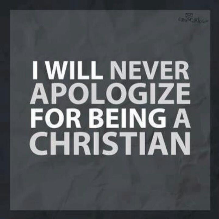 I am not ashamed of the Gospel of Jesus Christ.