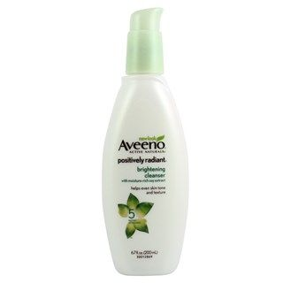 Aveeno Positively Radiant Brightening Cleanser--priceline, chemist warehouse, terry white