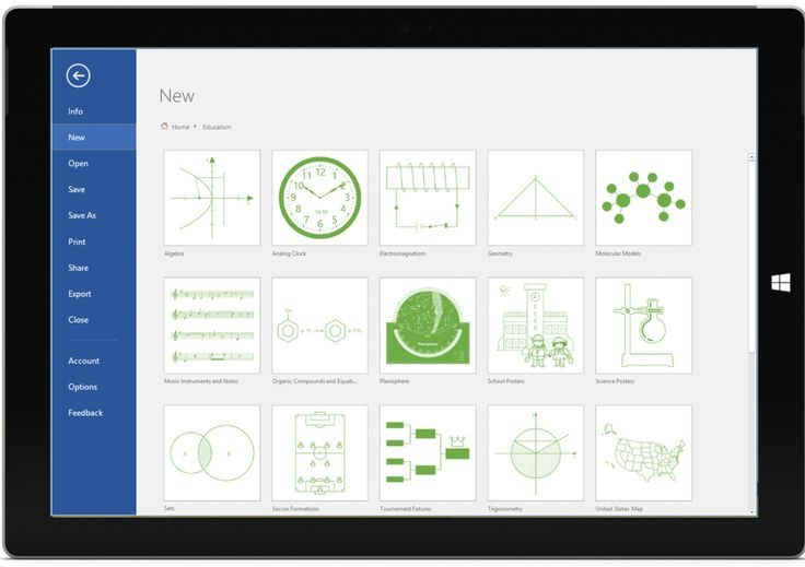 Years of research suggest students learn best when presented new material in diverse and interactive ways. Gone are the days of lecture-only classrooms; today, educators incorporate a variety of methods to boost learning outcomes. One of those methods, of course, is visual. We're excited to announce new Microsoft and third-party templates for Visio Pro for...