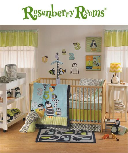 Create a cheerful nursery with the Phinley 4-Piece Crib Bedding Set from Lolli Living.  This adorable crib bedding set has everything you need to create a cozy place for your baby