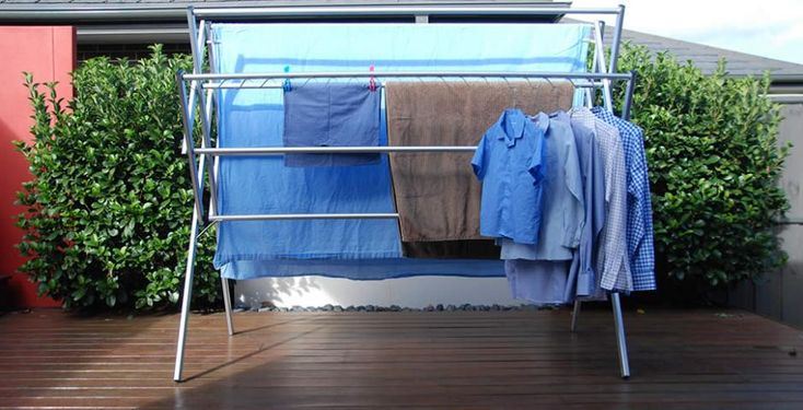Huge capacity clothes airer washing line