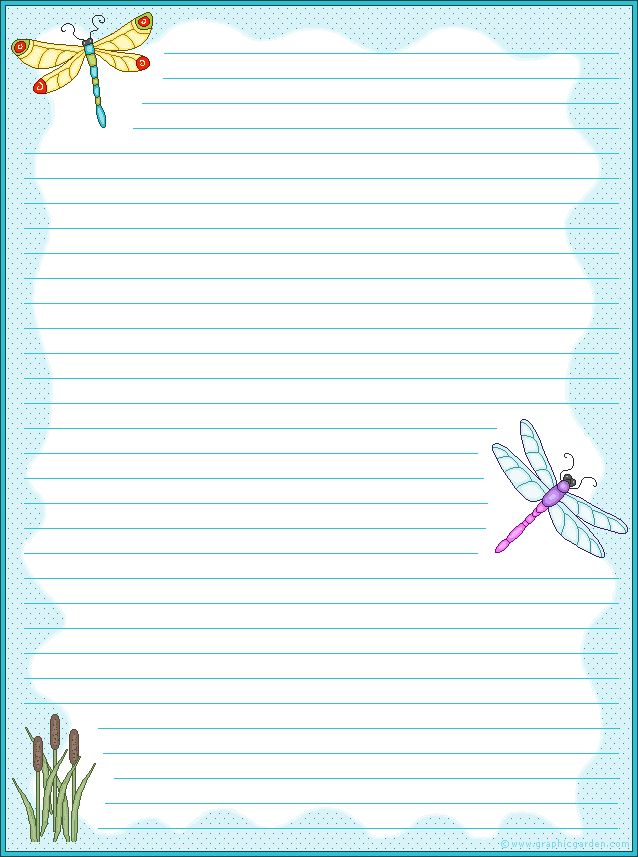 It's just a picture of Priceless Lined Stationery Printable