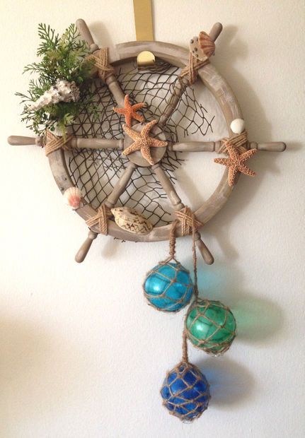 Shipwheel Wreath 2.0