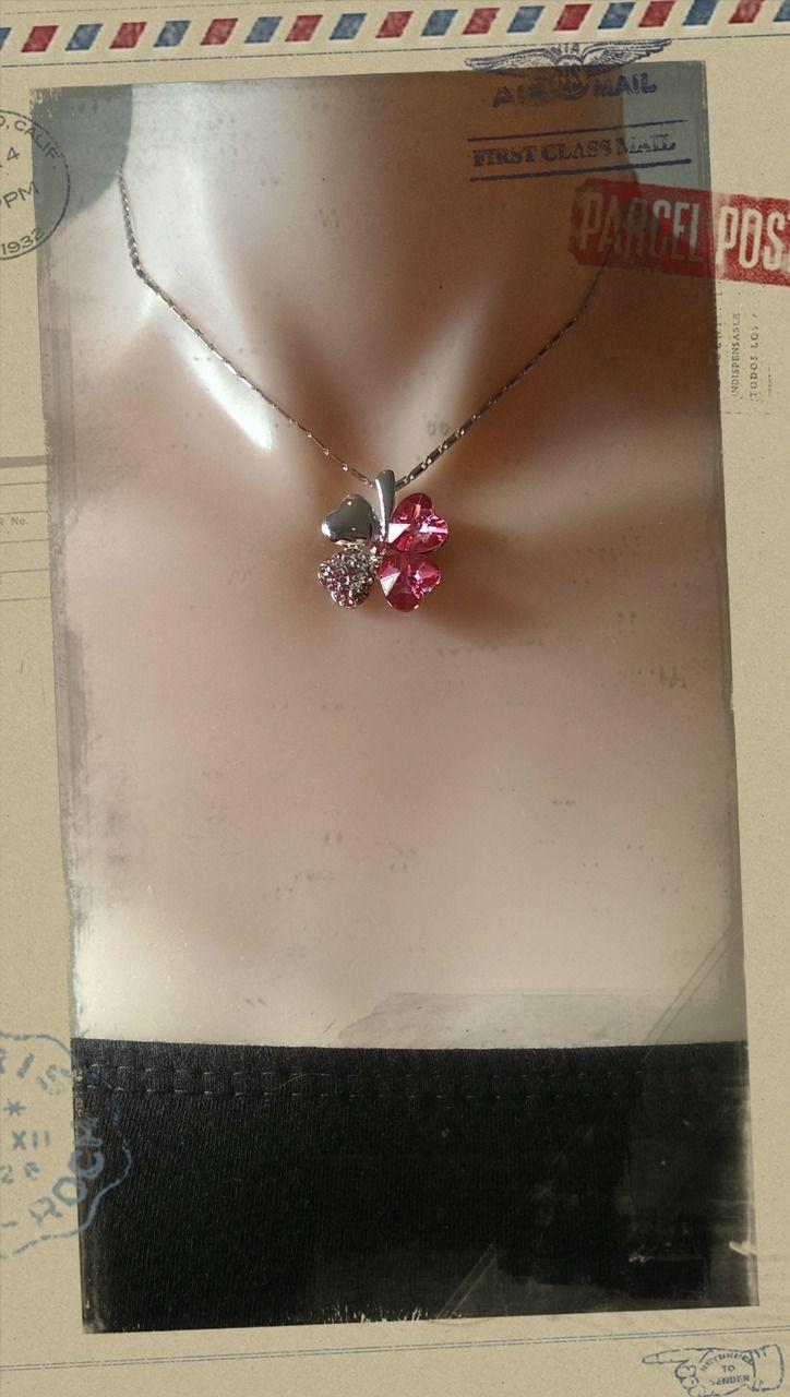 Popsie Ltd - Four leaf Clover Pendant Necklace - Hot Pink, $15.18 (http://www.popsie.co.nz/four-leaf-clover-pendant-necklace-hot-pink/)