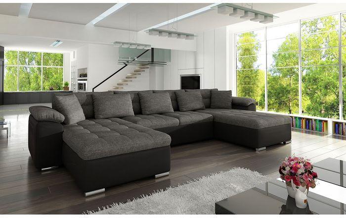 Kutna Garnitura Mt50 Boja Eko Koza Soft 011 Lux 06 Corner Sofa Fabric Stylish Sofa Bed U Shaped Sofa Bed