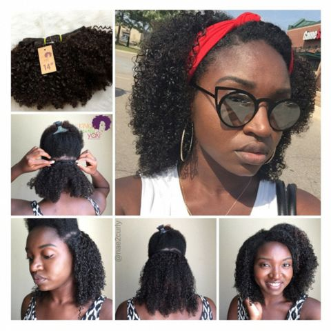 Afro Kinky Curly – Clip-Ins #KinkyCurly