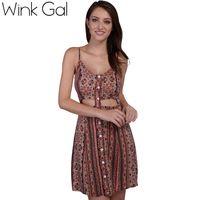 1______Проявить галлон сексуальное миниое платье цветочные платья лето свободного покроя без рукавов Boho ну вечеринку пляж платья 3134