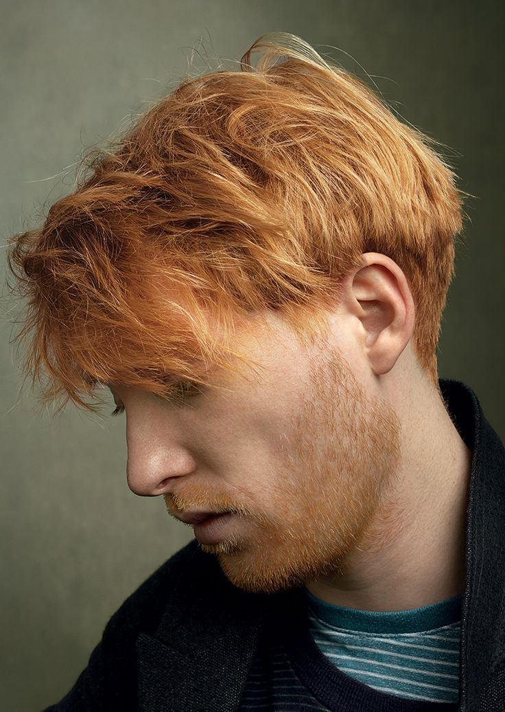 Best known for his shoulder-length locks throughout the Harry Potter films, the Dublin-born Domhnall Gleeson