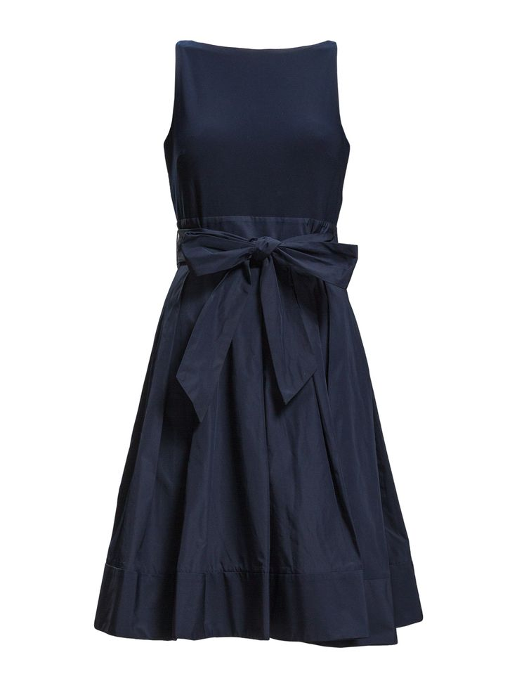 Yuko - Sleeveless Dress (Lighthouse Navy) (179.25 €) - Lauren Ralph Lauren | Boozt.com