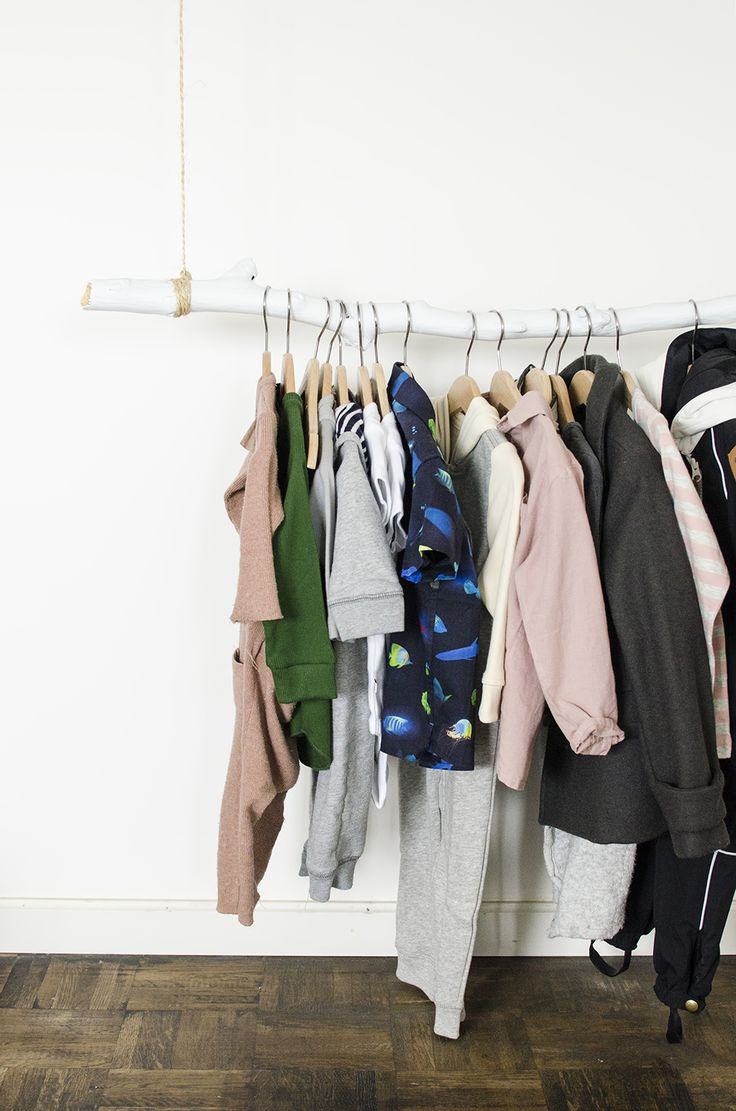Young Creatives: Melanie Van Dooren //Inside the home and workplace of a Jewelry Designer // DIY clothing rack for a nursery