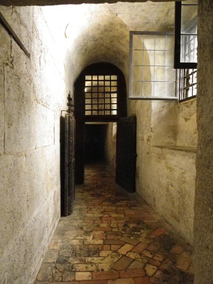 intérieur des prisons du palais des doges - Venise