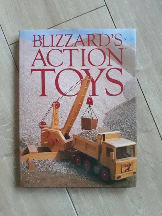 Blizzards Action Toys By Richard Blizzard Wooden Toy Patterns How