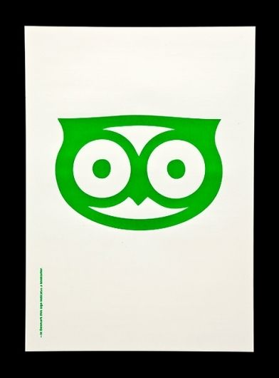Didn't know that OWL (bird) can be such an amazing graphic when done it properly.