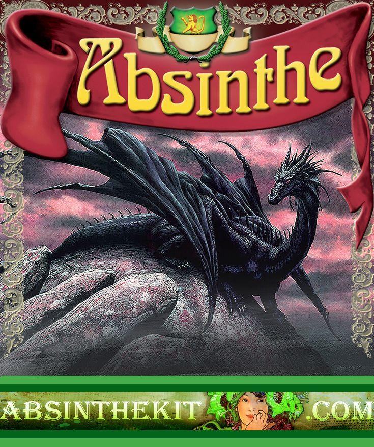 Absinthe Red Dragon