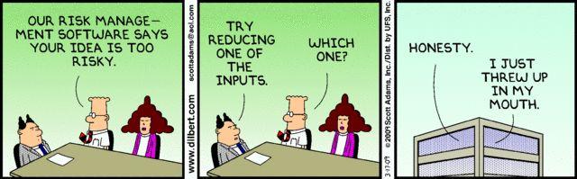 DilbertCom  Agile    Risk Management Project