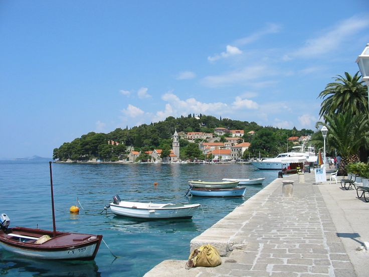 Cavtat Harbour, Croatia