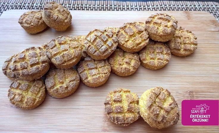 Édesburgonyás gluténmentes vegán pogácsa (szénhidrát-csökkentett paleo recept)