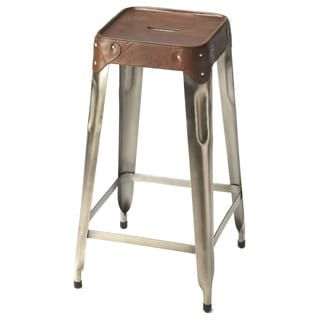 Shop for Butler Connor Iron/Leather Counter-height Barstool. Get free shipping at Overstock.com - Your Online Furniture Outlet Store! Get 5% in rewards with Club O! - 18909339