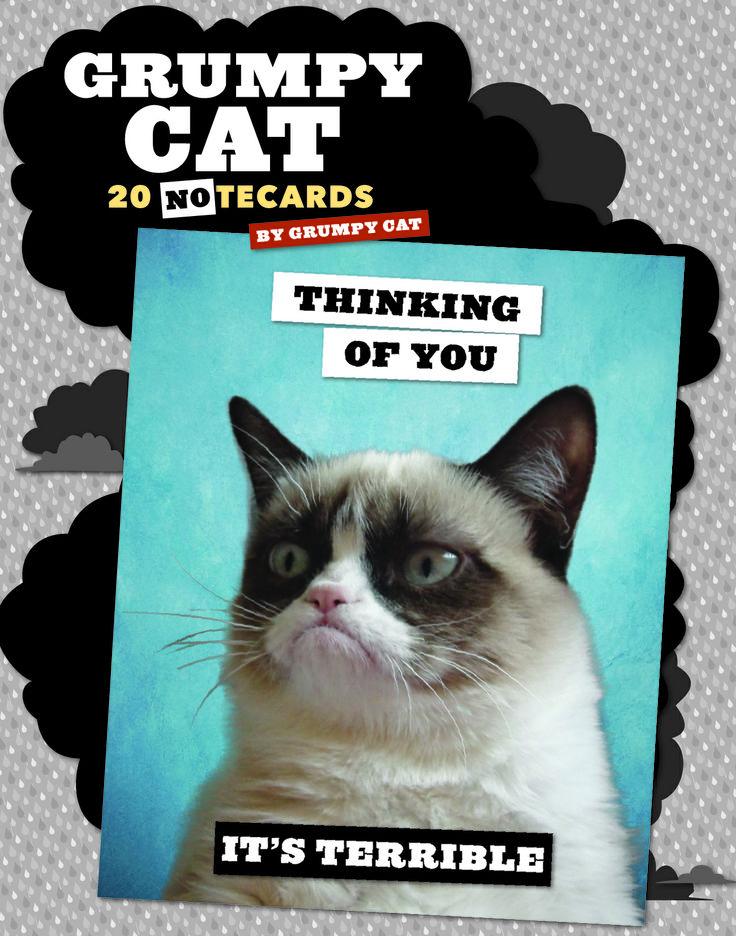 grumpy cat wedding invitations%0A Grumpy cat Notecards