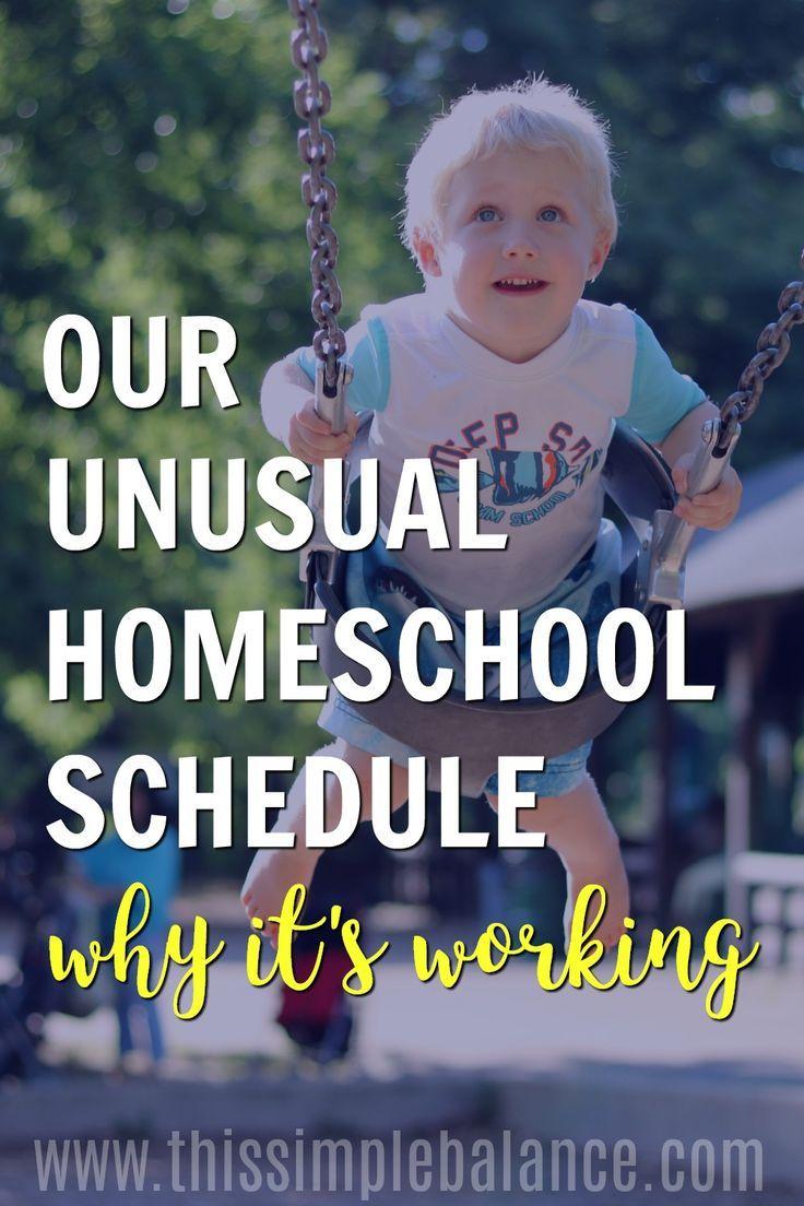 Homeschool Schedule | Homeschool Schedule Multiple Kids | Homeschool in the Afternoon #homeschool