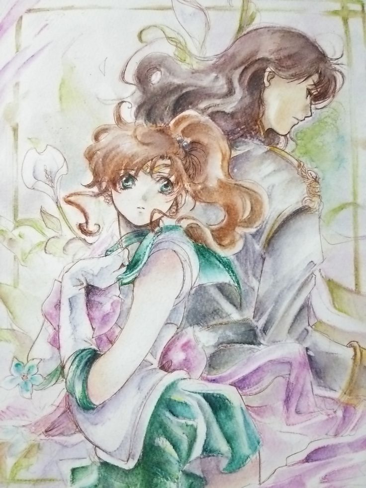 Sailor Jupiter And Nephrite 1000+ images about Nep...