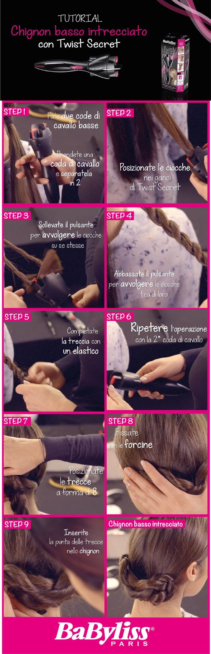 Oggi scopriamo come ottenere un fantastico chignon basso intrecciato. Segui tutti i passaggi nel tutorial di Twist Secret --> https://www.youtube.com/watch?v=QZfO95z4C50