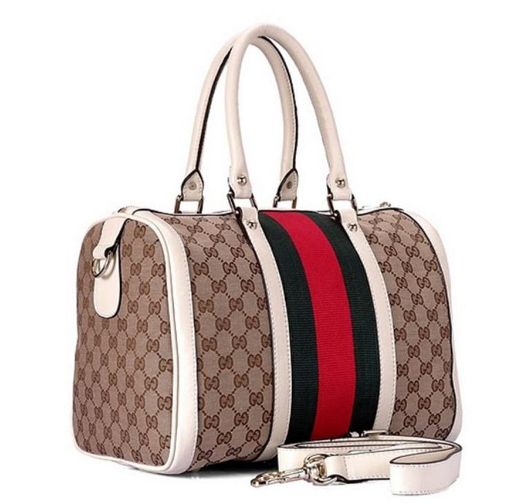 Bolsa Gucci - Vintage Vermelho/Azul  - www.modagrife.com
