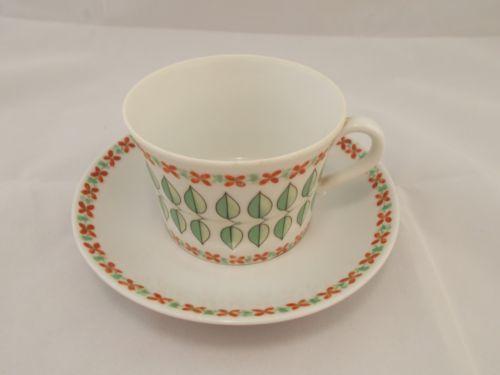 Vintage Upsala Ekeby Teacup Saucer | eBay