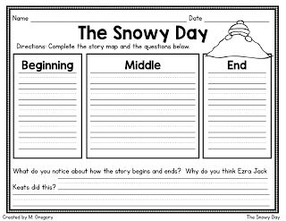 The Snowy Day: Reading in a Winter Wonderland