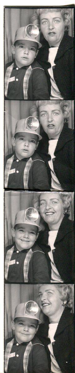 #vintage #photobooth #1950s