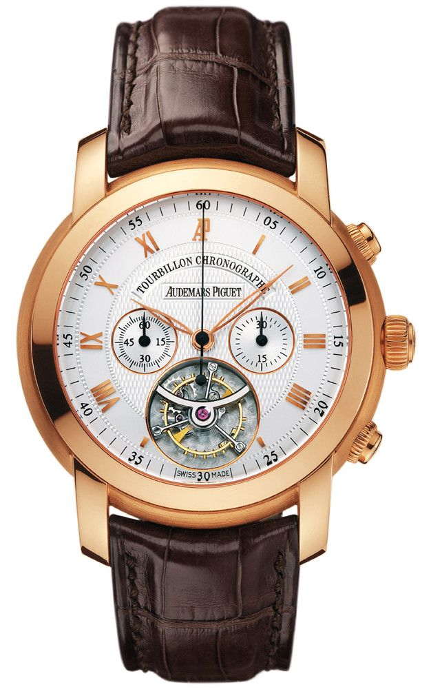 Jules Audemars Automatic Chronograph Rose Gold Men's Watch – Goldia.com