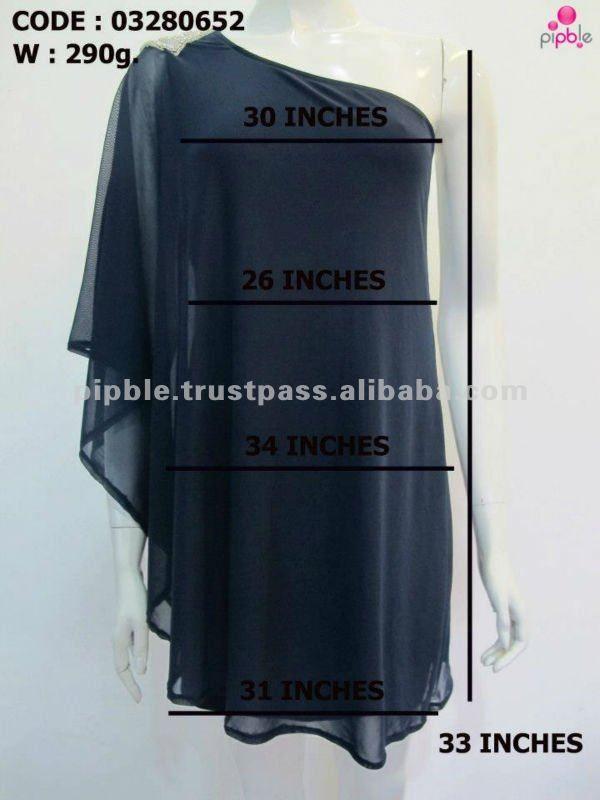 One Shoulder Dress Pattern - Buy One Shoulder Long Sleeve Black Dress,Evening Dress,Dresses Evening Product on Alibaba.com