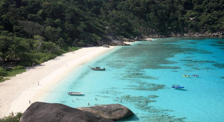 Ko Phad (The Eighth Island) of Mu Ko Similan National Marine Park, Phang-Nga