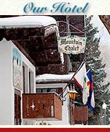 The charming Aspen Mountain Chalet offers banquet rooms in an incredible location in Aspen - a half-block from free shuttles, bus service, restaurants, and shops.