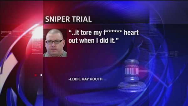 "STEPHENVILLE, Texas (AP) — A former Marine was convicted Tuesday in the deaths of ""American Sniper"" author Chris Kyle and another man at a shooting range two years ago, as jurors rejected defense arguments that he was insane and suffered from psychosis."