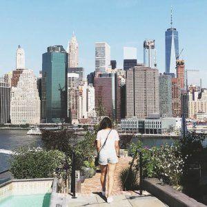 Hôtel Brooklyn Bridge avec Rooftop de folie !!! View sur la skyline de Manhattan et le Brooklyn Bridge !!!