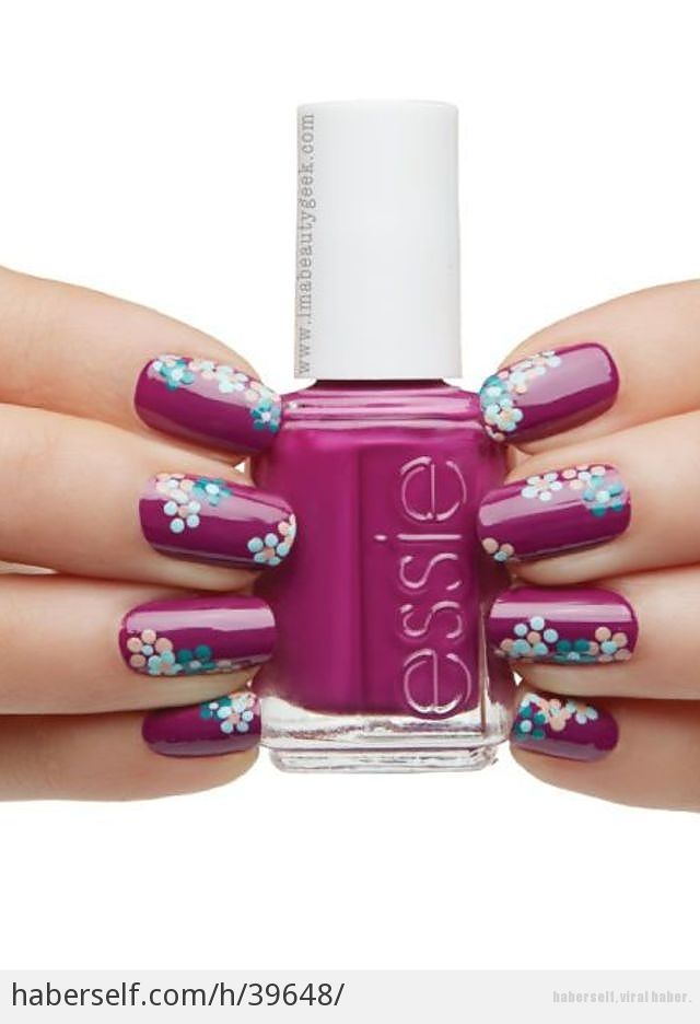 26 Best Pretty, Feminine Nails Images On Pinterest