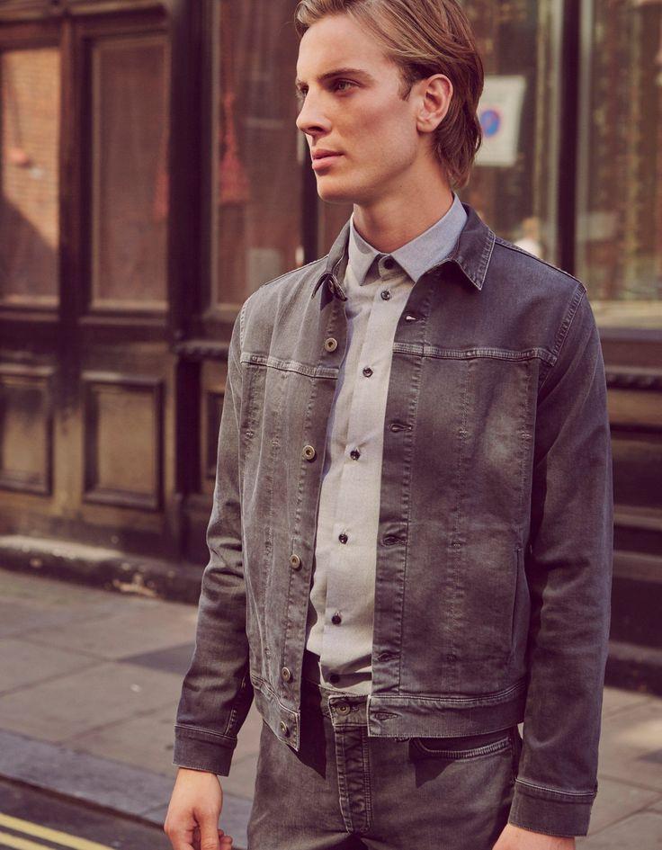 Wells Jacket Graphite | Natural Selection London