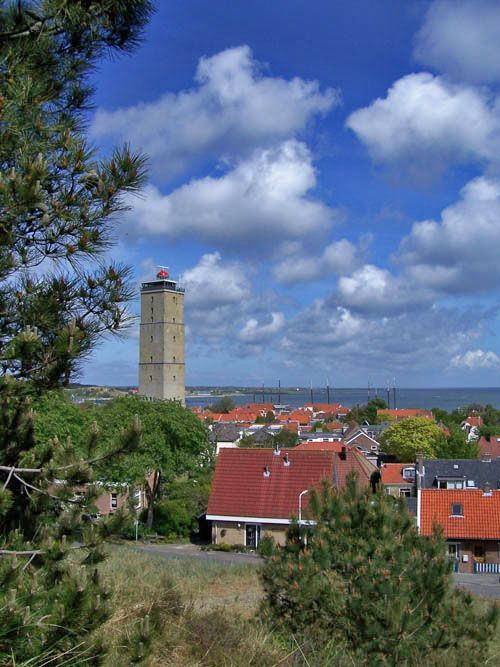 The oldest lighthouse in the Netherlands, W-Terschelling, Netherlands